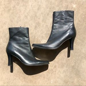 Bakers Black Heeled Boots